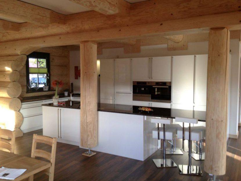 Kuchnia Biała Drewniany Dom Femar